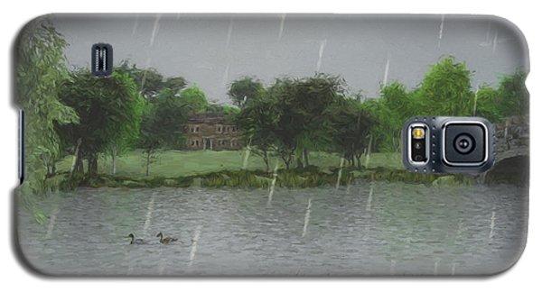 Rainy Day At The Lake Galaxy S5 Case