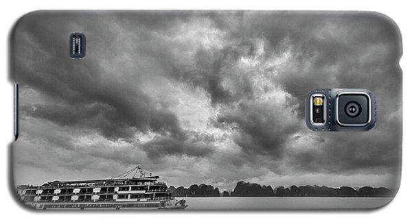 Galaxy S5 Case featuring the photograph Rainy Day Cruise by Hitendra SINKAR