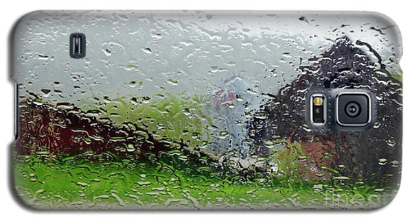 Rainy Day Farm Galaxy S5 Case by Alice Mainville