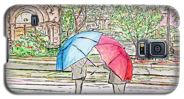 Rainy Day In Downtown Worcester, Ma Galaxy S5 Case