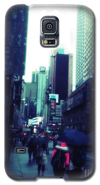 Rainy Day New York City Galaxy S5 Case