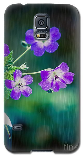 Galaxy S5 Case featuring the photograph Rainy Days And Mondays by Jan Bickerton