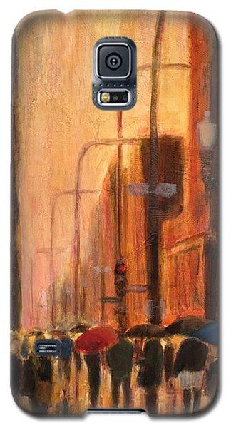 Rainy Evening Chicago Galaxy S5 Case