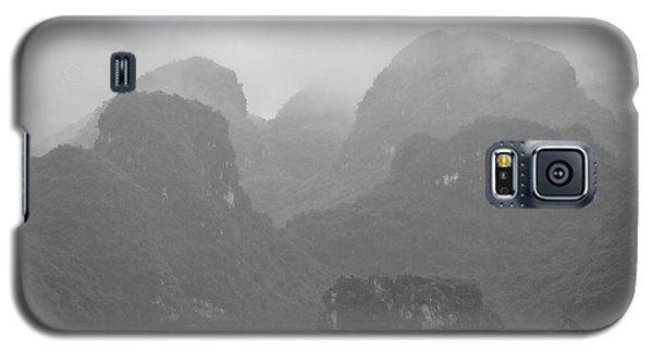 Galaxy S5 Case featuring the photograph Rainy Ha Long Bay, Ha Long, 2014 by Hitendra SINKAR
