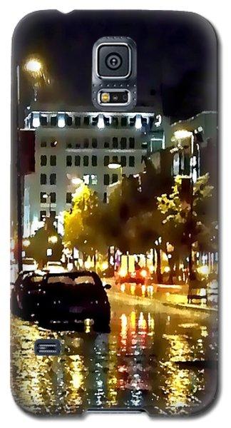 Rainy Night In Green Bay Galaxy S5 Case