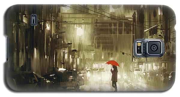 Rainy Night Galaxy S5 Case