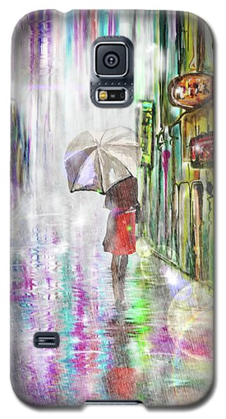 Rainy Paris Day Galaxy S5 Case