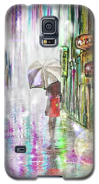 Rainy Paris Day Galaxy S5 Case