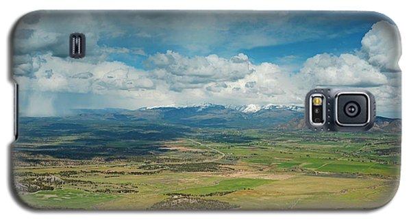 Rainy Storm Clouds Mesa Verde National Park Galaxy S5 Case