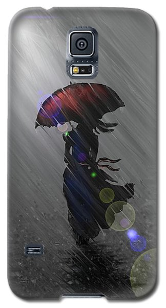 Rainy Walk Galaxy S5 Case