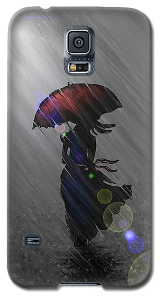 Rainy Walk Galaxy S5 Case