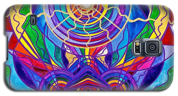 Swan Galaxy S5 Case - Raise Your Vibration by Teal Eye  Print Store