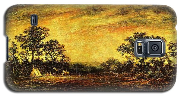 Ralph Blakelock, Indian Encampment Galaxy S5 Case