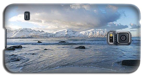 Ramberg Beach, Lofoten Nordland Galaxy S5 Case