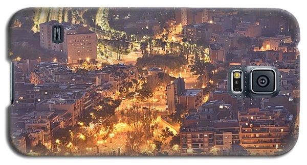 Galaxy S5 Case featuring the photograph Rambla Del Carmel Barcelona Spain by Marek Stepan