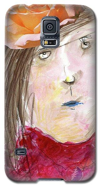 Magnolia Galaxy S5 Case - Ramble On Rose by Jonathan Plotkin