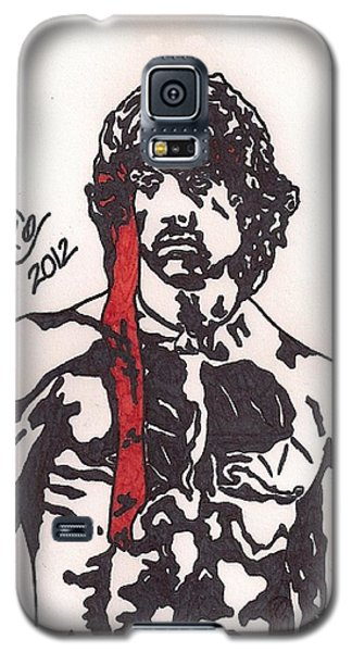 Rambo First Blood Part II Galaxy S5 Case by Jeremiah Colley