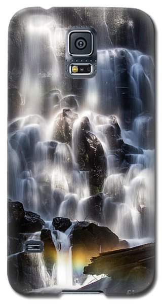 Ramona Falls With Rainbow Galaxy S5 Case by Patricia Babbitt