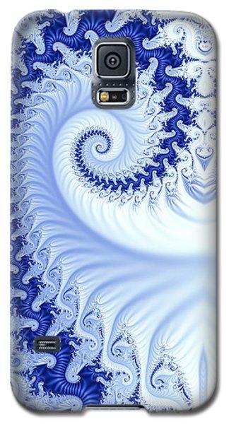 Ram's Horn Blue Galaxy S5 Case