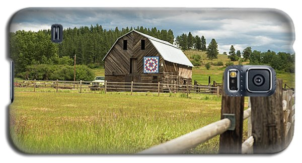 Ranch Fence And Barn With Hex Sign Galaxy S5 Case
