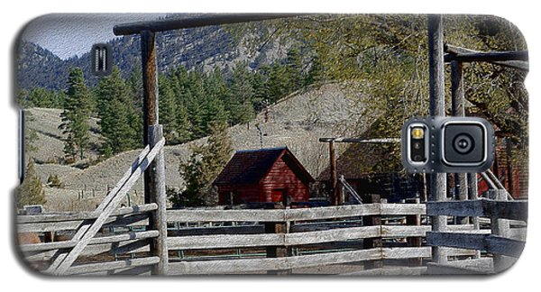 Ranch Fencing And Tool Shed Galaxy S5 Case