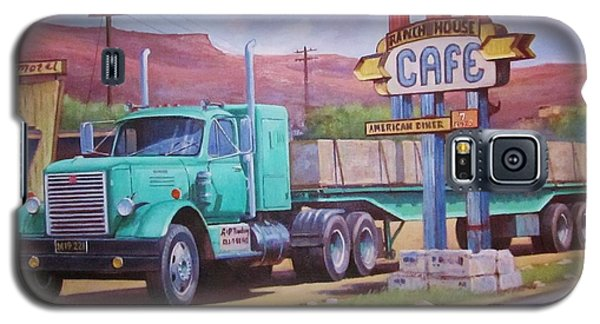 Ranch House Truckstop. Galaxy S5 Case by Mike Jeffries