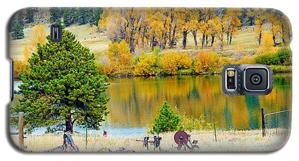 Ranch Pond In Autumn Galaxy S5 Case