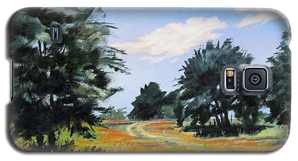 Ranch Road Near Bandera Texas Galaxy S5 Case