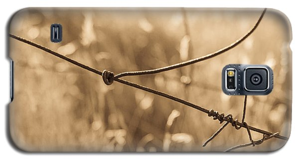 Ranching History At Browns Ranch Galaxy S5 Case by Marianne Jensen