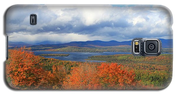 Rangeley Lake Autumn View Galaxy S5 Case
