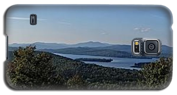 Rangeley Lake Sunset Panoramic Galaxy S5 Case