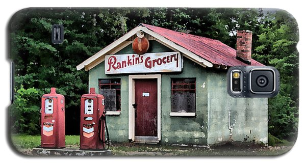 Galaxy S5 Case featuring the painting Rankins Grocery In Watercolor by Lynne Jenkins