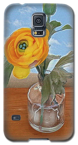 Ranunculus Spring Galaxy S5 Case by Alexis Rotella