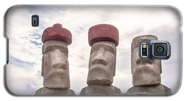 Rapa Nui Stone Heads Galaxy S5 Case