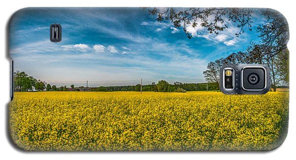 Rapeseed Field Galaxy S5 Case