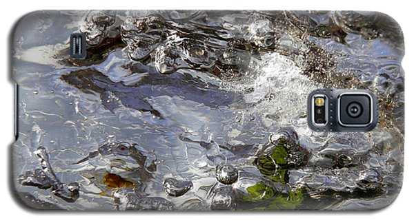 Galaxy S5 Case featuring the photograph Rapids Swim by Sami Tiainen