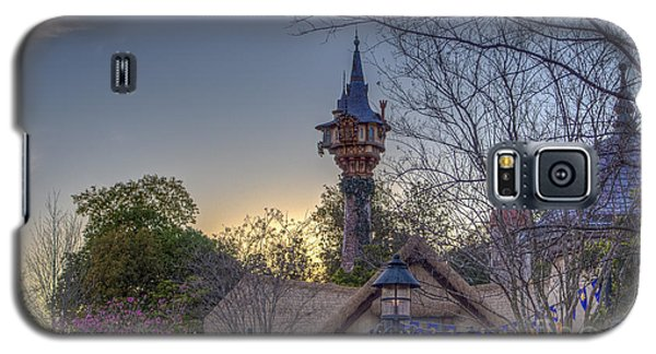 Rapunzel's Tower At Sunset Galaxy S5 Case