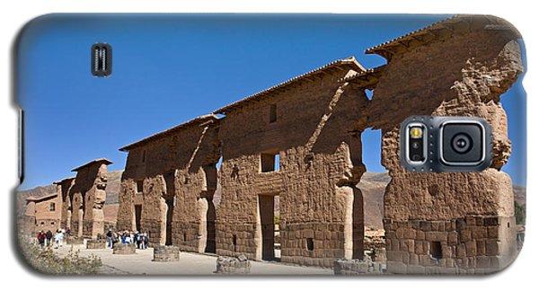 Raqchi Inca Ruins Galaxy S5 Case
