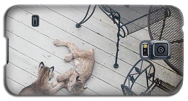 Wrestling Lynx Galaxy S5 Case