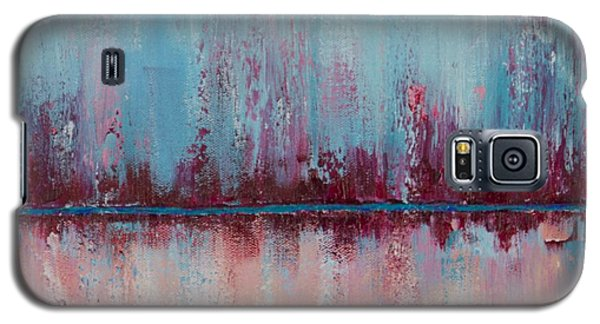 Galaxy S5 Case featuring the painting Raspberry Parfait by Suzzanna Frank