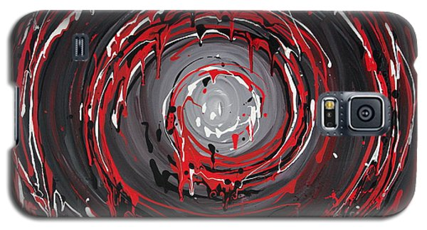 Raspberry Swirls Galaxy S5 Case