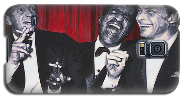 Galaxy S5 Case featuring the painting Rat Pack by Luis Ludzska