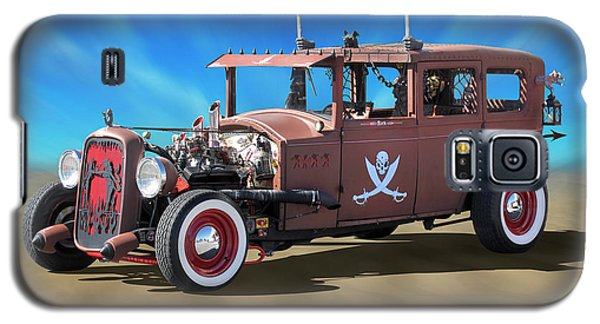 Galaxy S5 Case featuring the photograph Rat Rod On Beach 3 by Mike McGlothlen