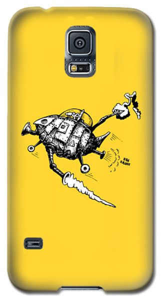 Rats In Space Galaxy S5 Case by Kim Gauge