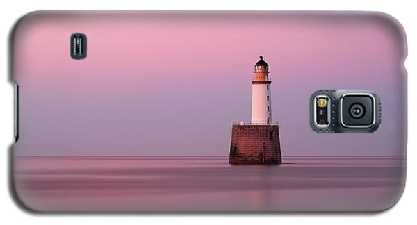Rattray Head Lighthouse At Sunset - Pink Sunset Galaxy S5 Case