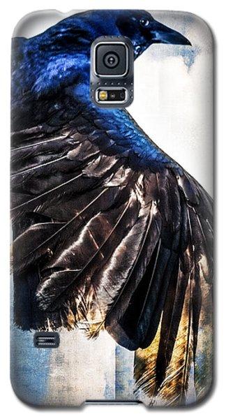 Raven Attitude Galaxy S5 Case by Carolyn Marshall