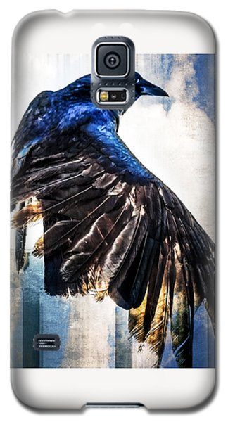 Raven Attitude Galaxy S5 Case