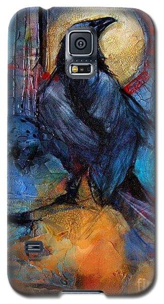 Raven Blue Galaxy S5 Case