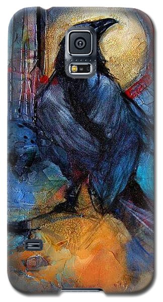 Raven Blue Galaxy S5 Case