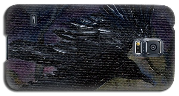 Raven In Stars Galaxy S5 Case